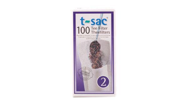 Tassen-Teefilter Gr. 2 t-sac, 100 Stück