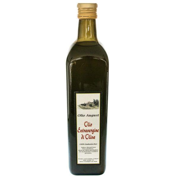 August Olivenöl Ernte 2017