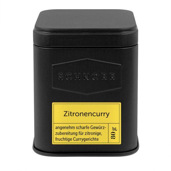 Zitronencurry Dose