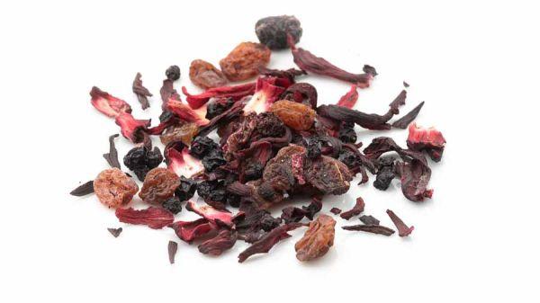 Rote Grütze Früchtetee - fruchtig, beerig, schön