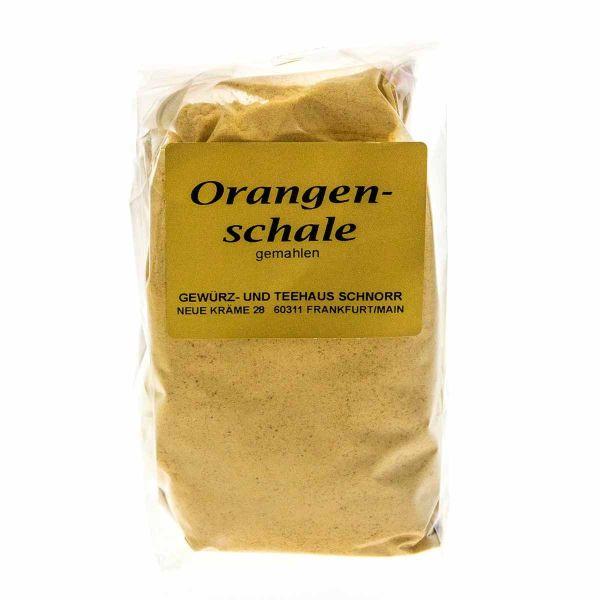 Orangenschale - gemahlen