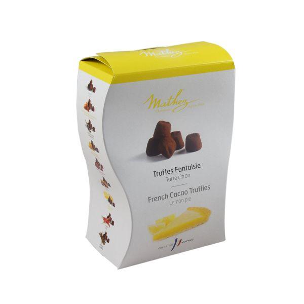 Mathez Schokoladentrüffel mit Zitronengeschmack - Uno Citron Meringue
