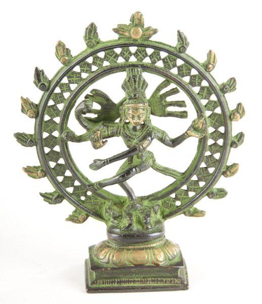Shiva Nataraj, Messing, 15 cm