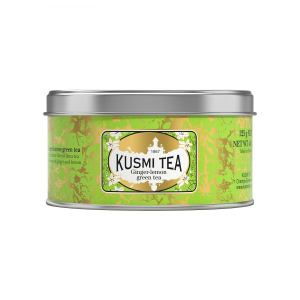 Kusmi Tee Grüner Tee Ingwer Zitrone