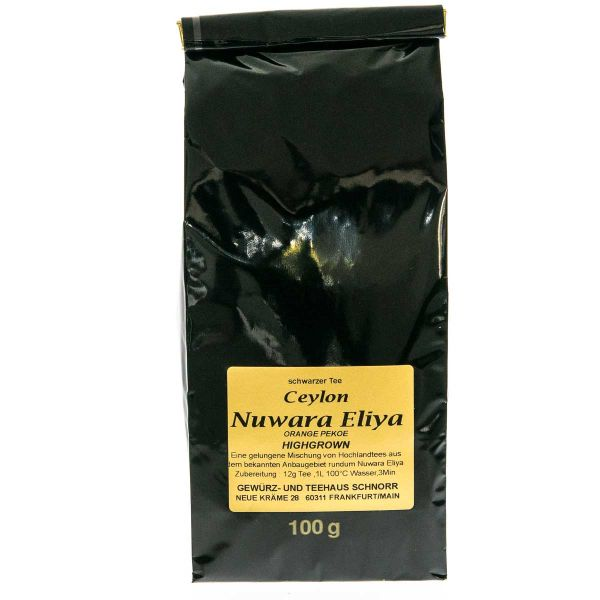 "Ceylon ""Nuwara Eliya"" Orange Pekoe"