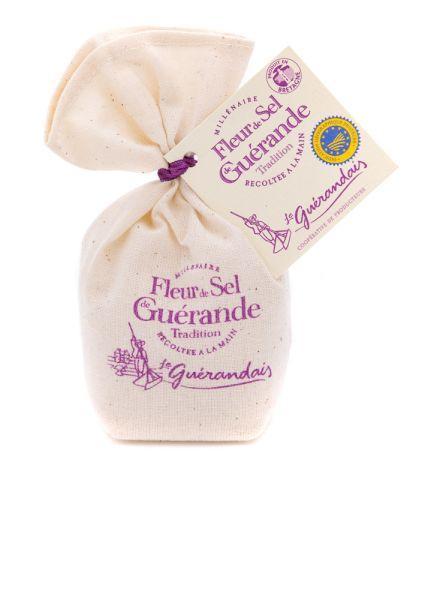 Fleur de Sel de Guérande im Säckchen g.g.A.
