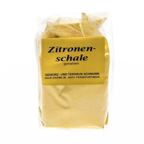 Zitronenschalen - gemahlen