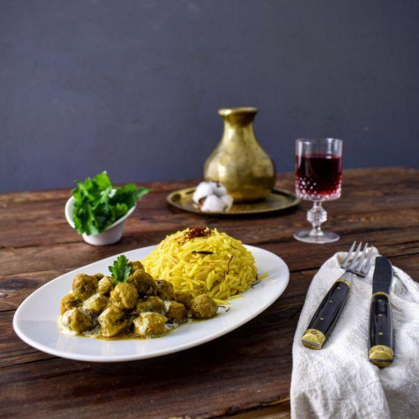 Vegetarisches Soja Curry