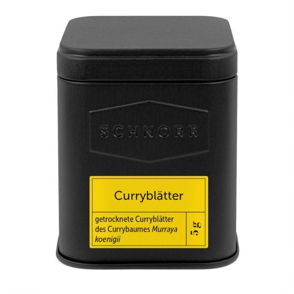 Curryblätter Dose