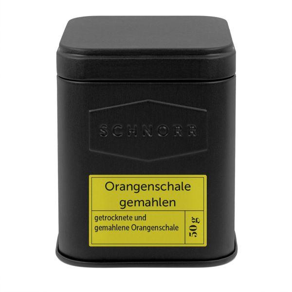 Orangenschale gemahlen Dose