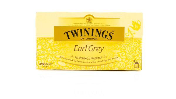 Twinings Earl Grey - 25 Aufgussbeutel