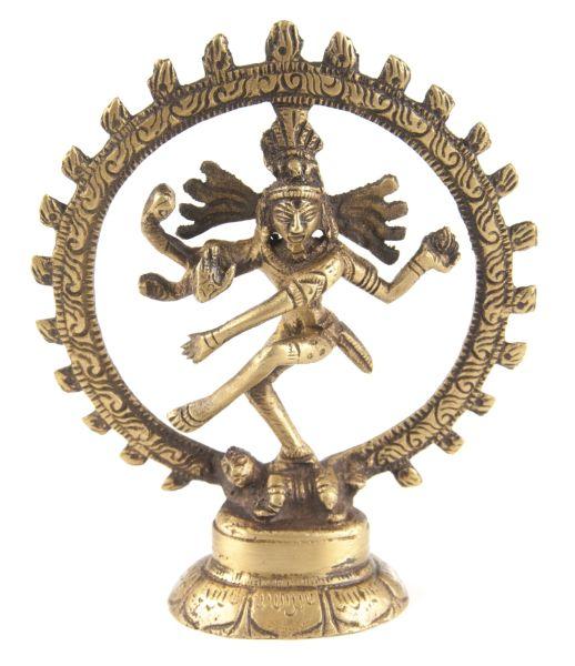 Shiva Nataraj, Messing, 10,5 cm