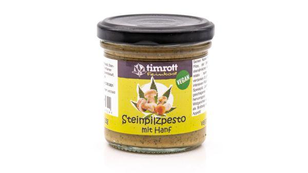 Steinpilzpesto mit Hanf