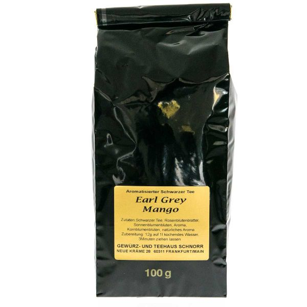 Schwarzer Tee Earl Grey Mango