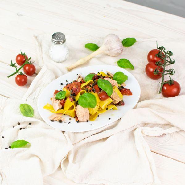 Pappardelle al limone - Pasta mit natürlichem Zitronenaroma