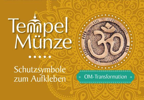 Tempelmünze Om Messing 30 mm