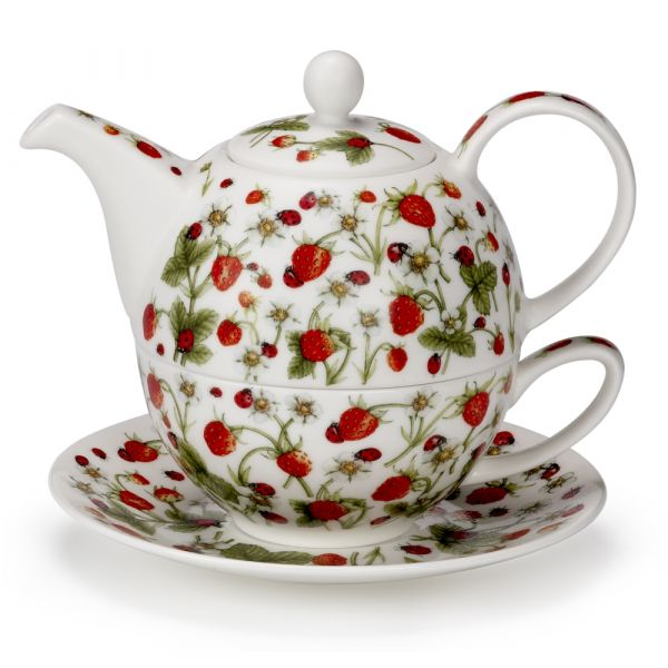 • Tea for One Dovedale Strawberry - Kanne 0,5L / Tasse 0,2L - Dunoon