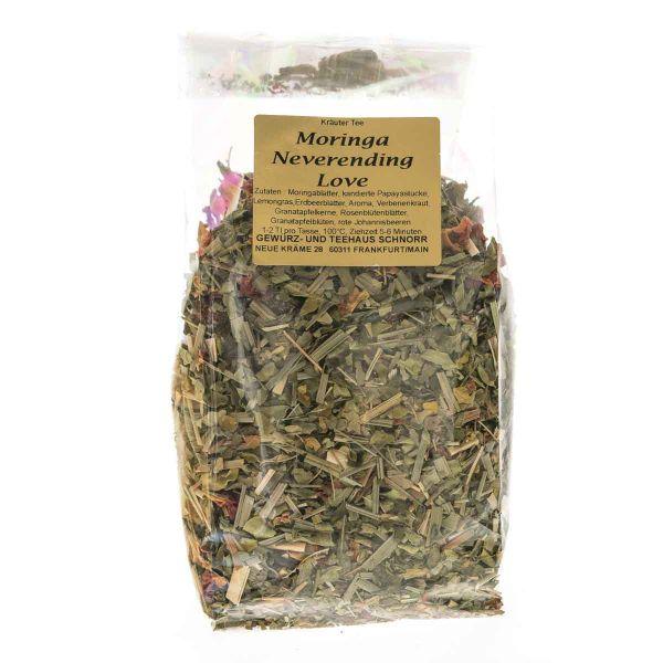 Kräutertee Moringa mit Granatapfel- Johannisbeergeschmack