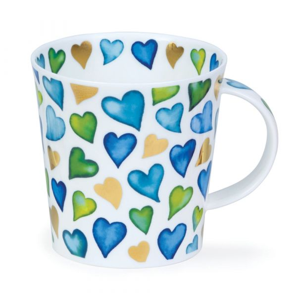 Cairngorm Lovehearts Blue 0,48L - Dunoon