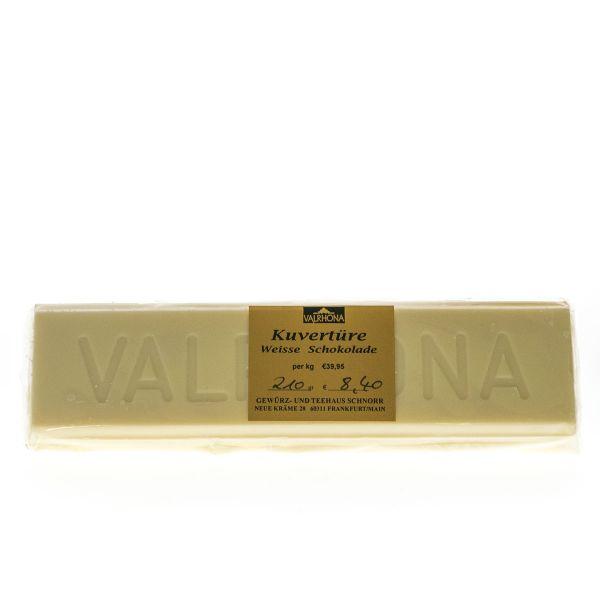 Valrhona Kuvertüre Block - Weiß Ivoire