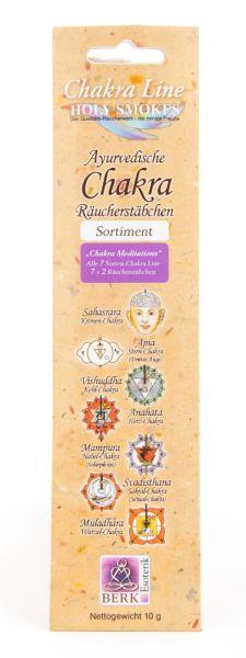 "Räucherstäbchen ""Chakra Meditations"" Chakra Line Sortiment"
