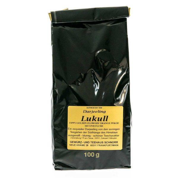 """Darjeeling Second Flush Hochgewächs """"Lukull"""" TGFOP"""