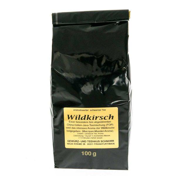 """Wildkirsch Schwarztee """"Kirschkönigin"""""""