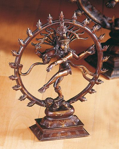 Shiva Nataraj Messing, 28 cm
