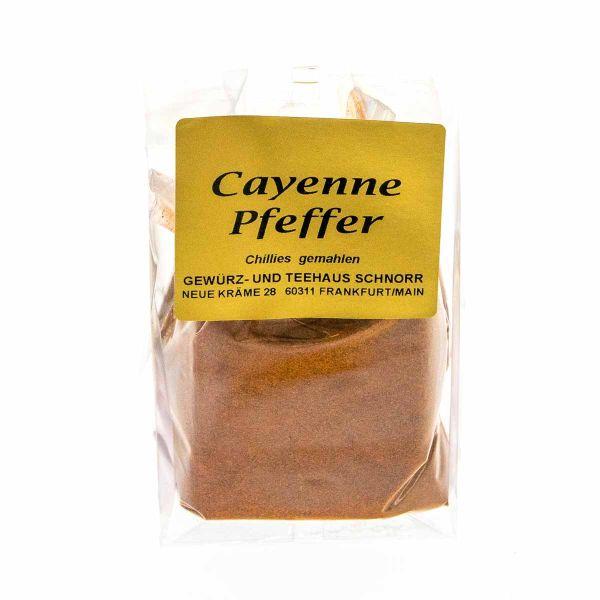 Cayennepfeffer - gemahlene Chillies