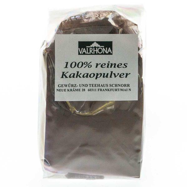 Valrhona Kakaopulver stark entölt
