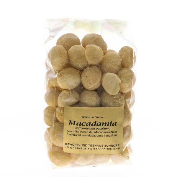 Macadamia Nusskerne - geröstet und gesalzen