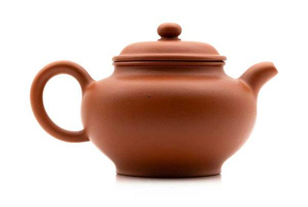 Yixing Teekanne mit Tonsieb von Herr Zhao groß