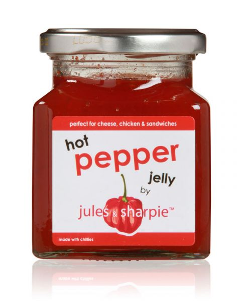 Hot Pepper Jelly von Jules & Sharpie 300 g