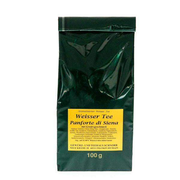 Panforte di Siena Weißer Tee
