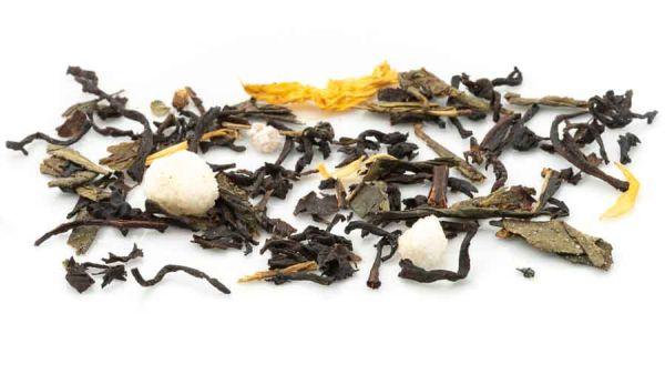 Fit und Schlank Schwarz- und Grünteemischung - für ein bisschen Fitness in Ihrer Teetasse