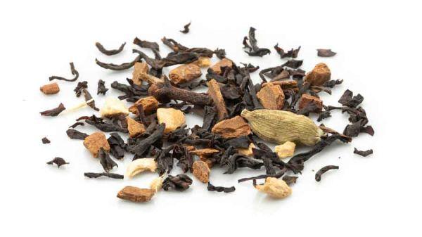 Bio natural Chai Mischung mit schwarzem Tee und Gewürzen