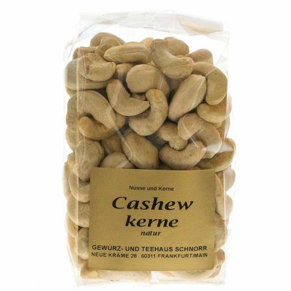 Cashewkerne natur - Die Nuss des Cashewapfel