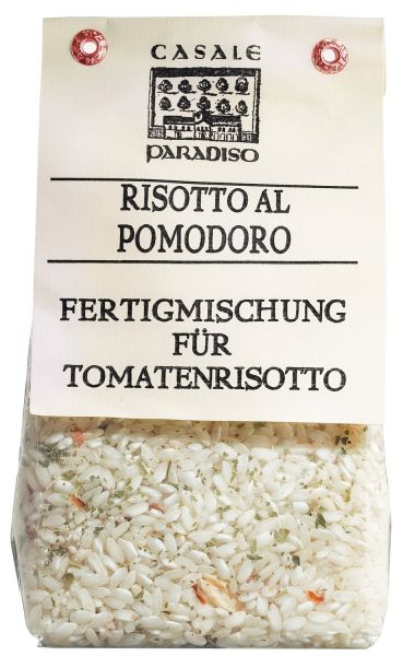 Risotto Reis mit getrockneten Tomaten