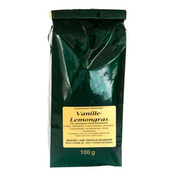 Kräutertee Vanille Lemongras - wie Oma's Zitronenkuchen