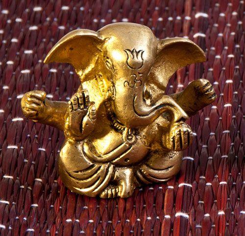Ganesha, Messing, 6 cm