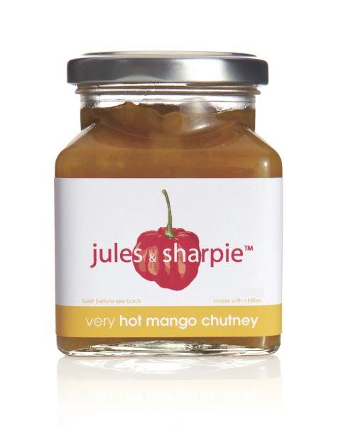 Jules & Sharpie Hot Mango Chutney