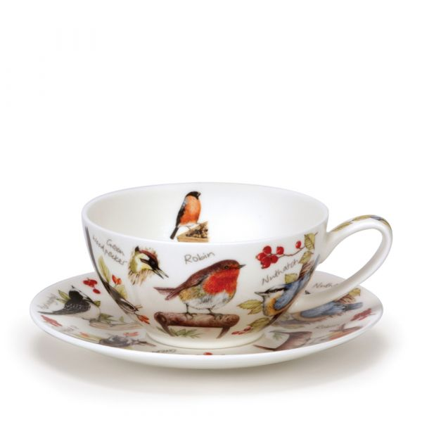 Tea for One Cup/Saucer BIRDLIFE 0,2L - Dunoon