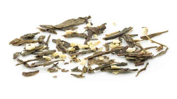 Mandelplätzchen - Grüner Tee