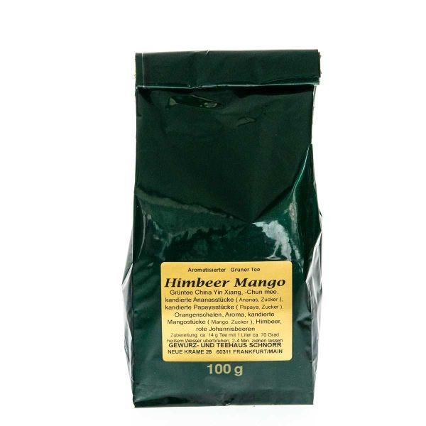 Grüner Tee Hexenschmaus mit Himbeer Mango Geschmack