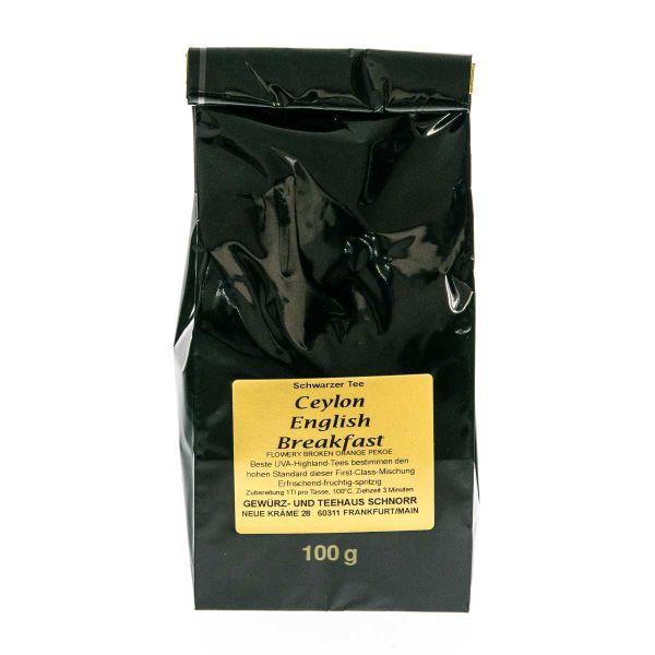 Ceylon English Breakfast Tee - der britische Klassiker