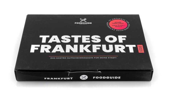 Tastes of Frankfurt Gutscheinmagazin 2021