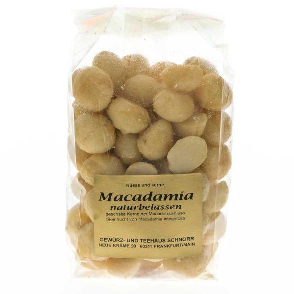 Macadamia Nusskerne - geröstet