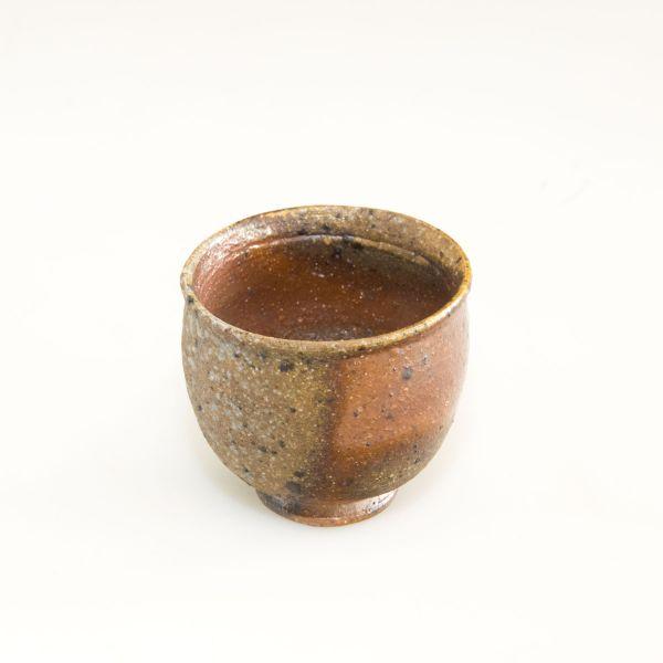 Teeschale - Teecup - Handgemacht - Feine dunkle ocker und braun Töne