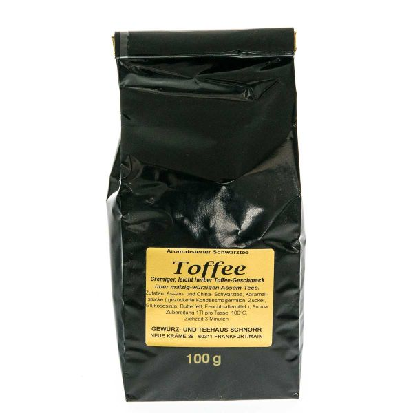 Toffee Schwarztee