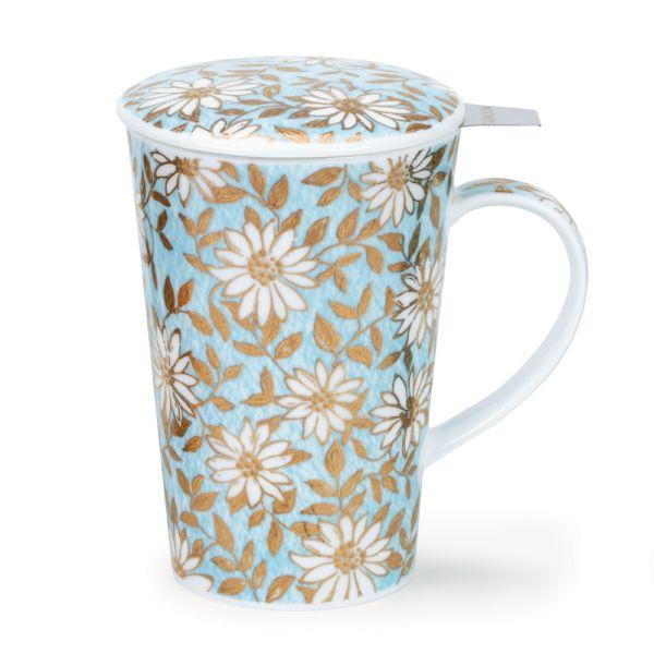 Shetland Aqua Mug with infuser 0,44L - Dunoon